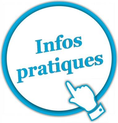 Bouton pobyty Infos Pratiques