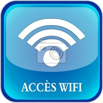 bouton Přístup Wi-Fi