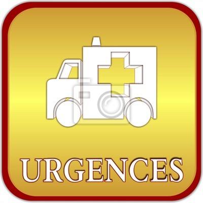 bouton urgences
