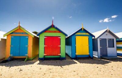 Plakát Brighton Bay Beachhouses