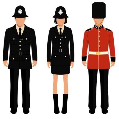 Plakát Britská stráž, Angličané, uk policista