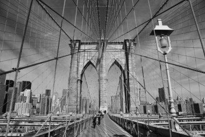 Plakát Brooklyn Bridge, New York