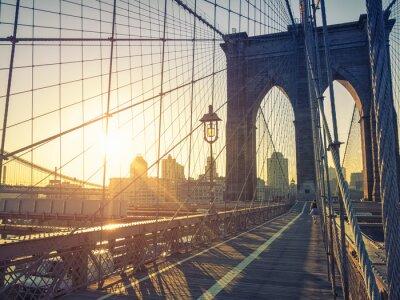 Plakát Brooklyn Bridge New York
