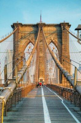 Plakát Brooklyn most v New Yorku