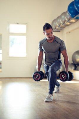 Plakát Budování jeho biceps