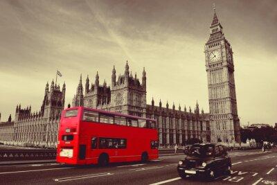Plakát Bus in London
