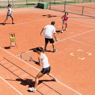 Plakát Cardio tenisový trénink