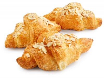 Plakát Čerstvé sladké croissanty