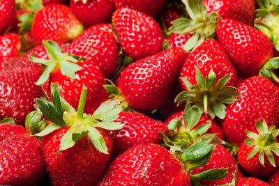 Plakát červené jahody