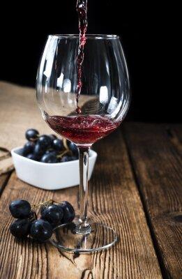 Plakát Červené víno