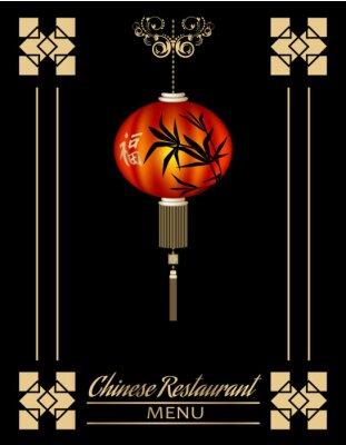 Plakát Čínská restaurace Nabídka krytí