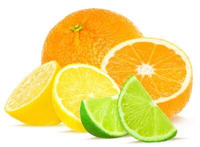 Plakát citrus isolated