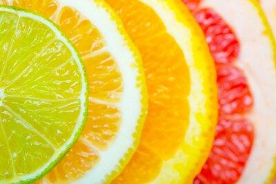 Plakát citrusové pozadí