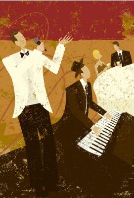 Plakát Club Singer