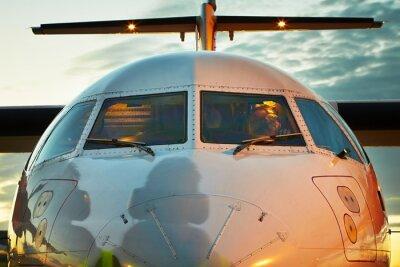 Plakát Cockpit letounu