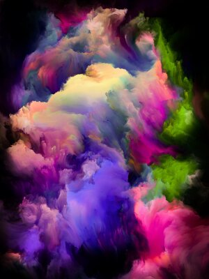 Plakát Colorful Cloud Abstraction