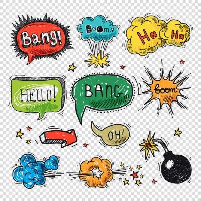Plakát Comic bublinu