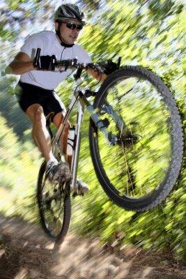 Plakát cyklista