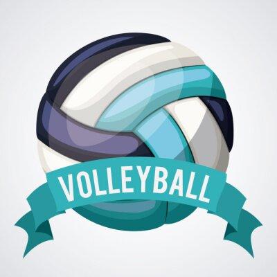 Plakát Design volejbalové ligy