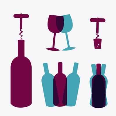 Plakát Design Wine.