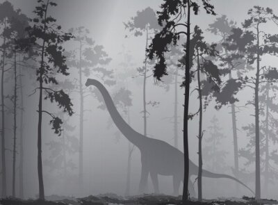 Plakát dinosaurus