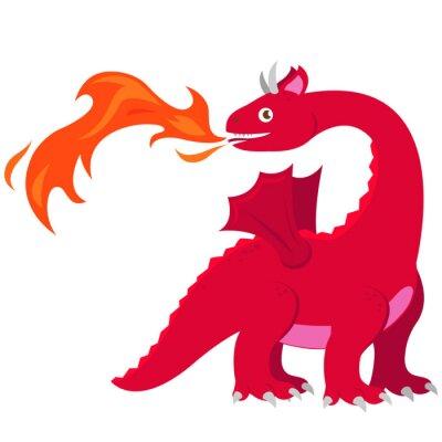 Plakát Dračí dýchací drak