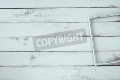 Plakát Dřevěné rámečky na mátový zchátralého elegantní pozadí