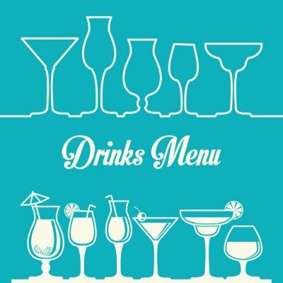 Plakát Drink designu