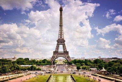 Plakát Eiffelova věž, Paříž