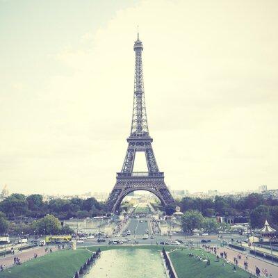 Plakát Eiffelova věž v Paříži
