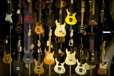 Plakát Elektrické kytary