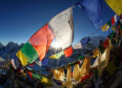 Plakát Everest základna Camp, Nepál