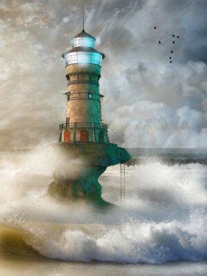 Plakát Fantasy landscape