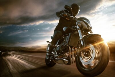 Plakát Fast Motorbike