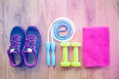 Plakát fitness zařízení