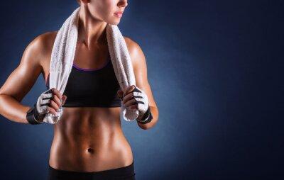 Plakát Fitness žena