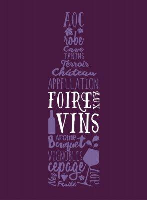 Plakát Foire aux Vins