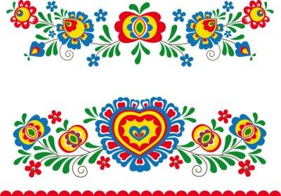 Plakát Folk ornaments