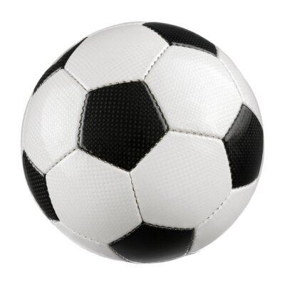 Plakát Fotbal na čistě bílé