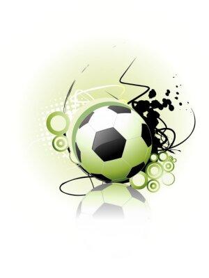 Plakát Fotbal vektor