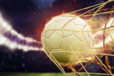 Plakát fotbalová branka