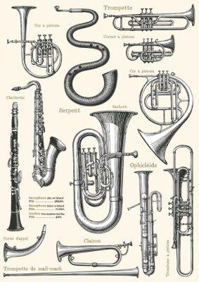 Plakát Francouzský hudební plakát