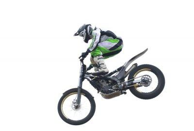Plakát Freestyle senzace jezdec na bílém.