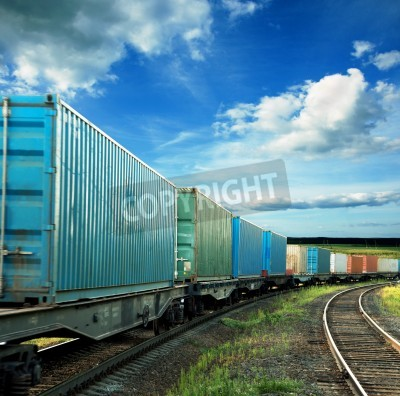 Plakát freight cars