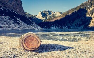 Plakát Frozen horské jezero.