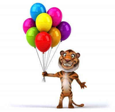 Plakát Fun tygr