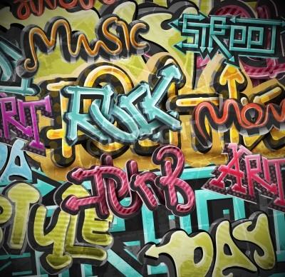 Plakát Graffiti grunge pozadí, eps 10