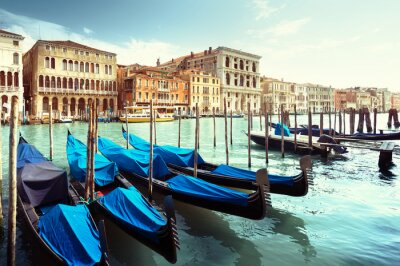 Plakát Grand Canal, Benátky, Itálie