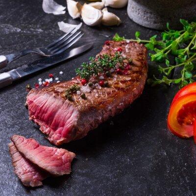 Plakát grilovaný steak