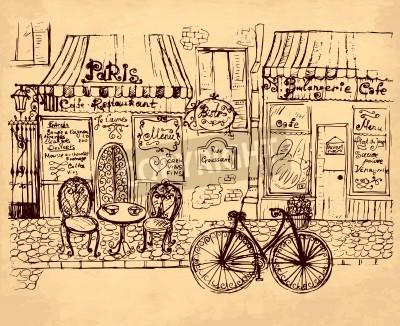 Plakát hand drawn illustration